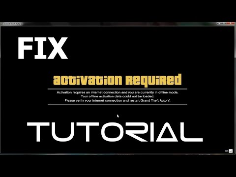 GTA V fix : Activation required fix (No Date Change)