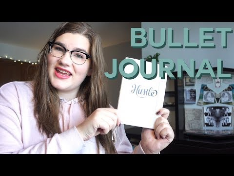 How I use my Bullet Journal for school, Youtube & freelance work