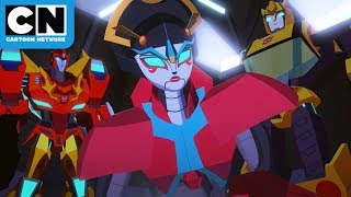 Rescue Mission | Transformers Cyberverse | Cartoon Network