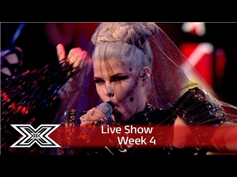 Saara Aalto goes Gaga with Bad Romance | Live Shows Week 4 | The X Factor UK 2016