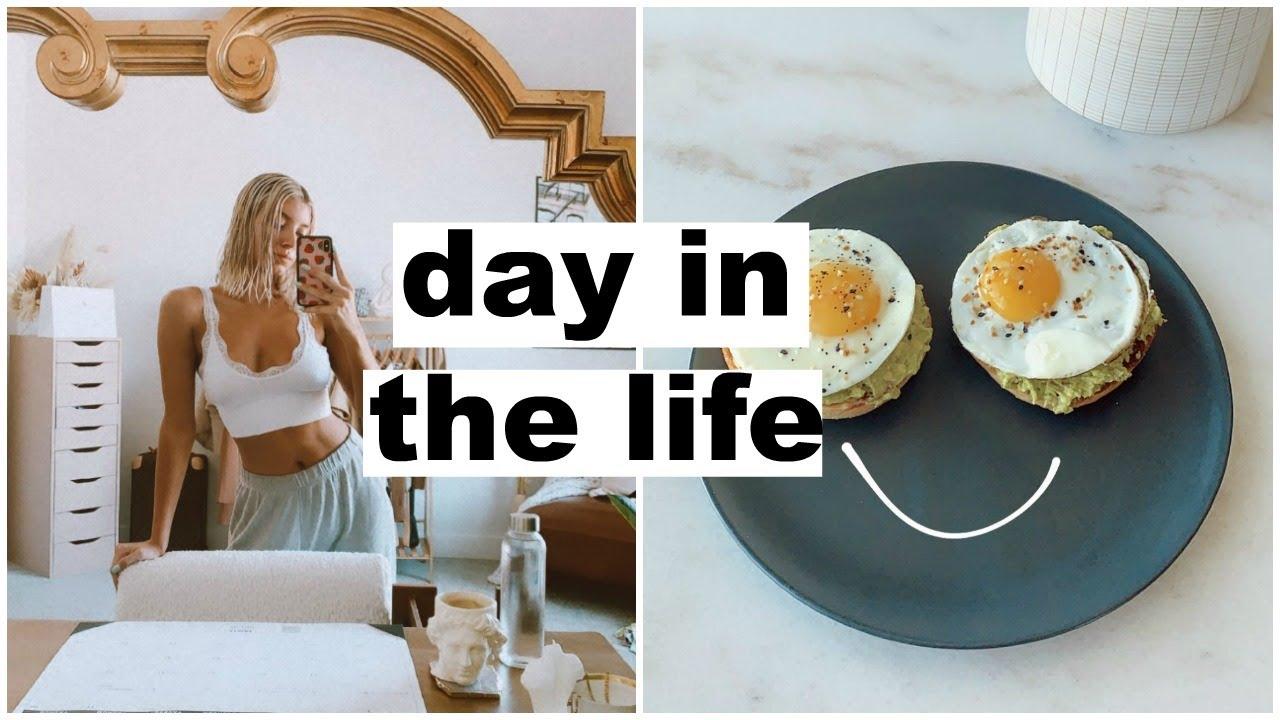 day in the life: mini try on haul & dinner w/ nat! | Keaton Milburn