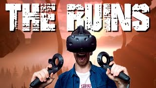VR ESCAPE ROOM! | The Ruins: VR Escape the Room - HTC Vive Gameplay