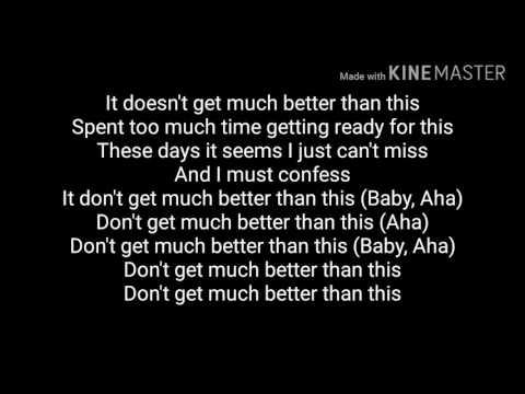 Download lagu Mp3 Jeremih & Ty Dolla $ign & Sage The Gemini - Don't Get Much Better lyrics terbaik