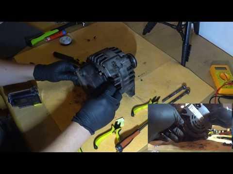 Valeo Alternator Brush Replacement