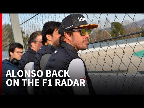 What's behind Alonso's F1 test return