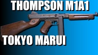 Thompson M1A1 Marui video review