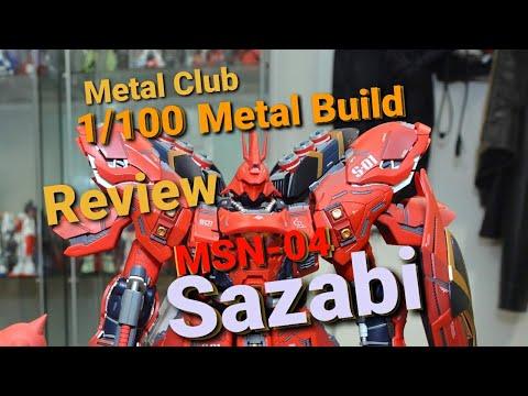 METAL CLUB 1/100 METAL BUILD SAZABI REVIEW