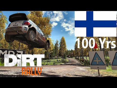 Full Rally Of Finland (2/4) | Dirt Rally | Finland 100 Years