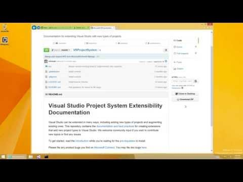 VS Project System Extensibility: Project type creation demo
