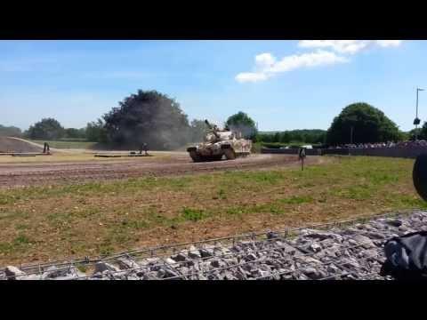 Tankfest 2013 - Khalid (Chieftan export for Royal Jordanian Army)