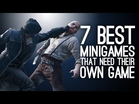 7 Best Minigames That Deserve Their Own Game