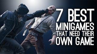 7 Best Minigames That Deserve Their Own Game
