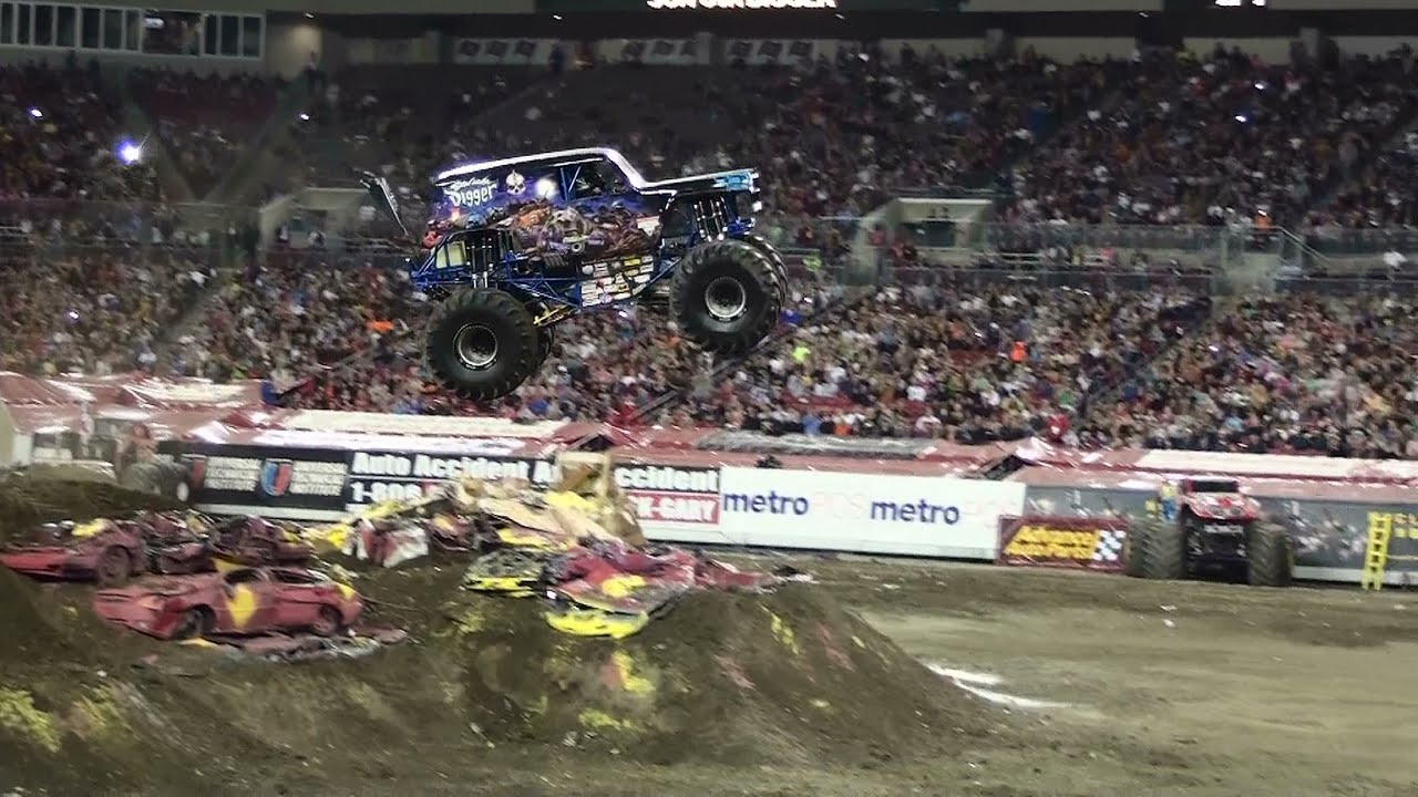 Son uva digger ryan anderson freestyle monster jam tampa 2013 youtube