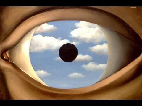 Alan cox composer six orchestral images after magritte 5 for Magritte le faux miroir
