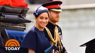 Meghan Markle Makes 1st Public Appearance Since Son's Birth | TODAY