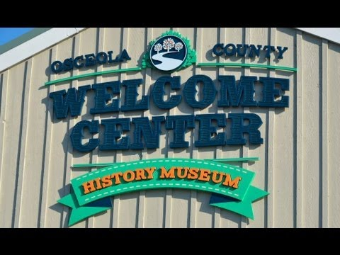 The Osceola County Welcome Center History Museum And Pioneer Village!!! (11.10.12)