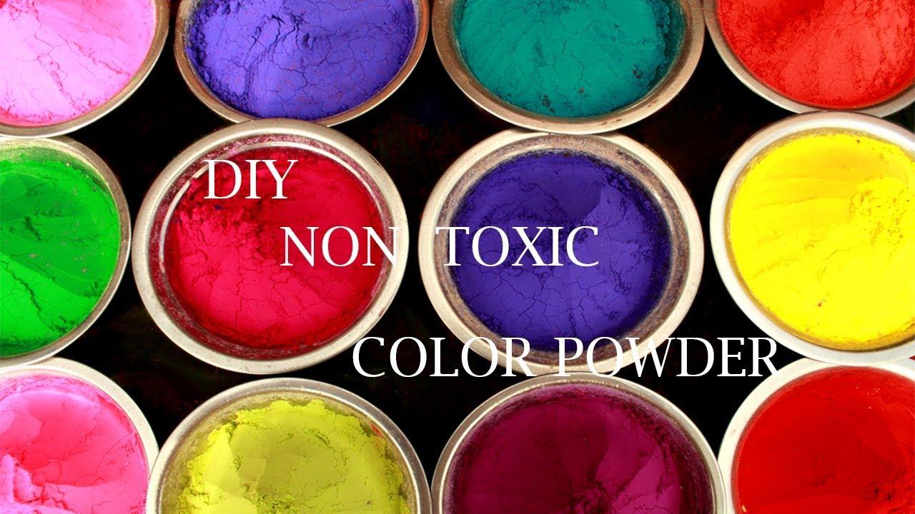 Diy Non Toxic Holi Colors Diy Color Powder