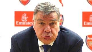 arsenal 5 1 everton sam allardyce full post match press conference premier league