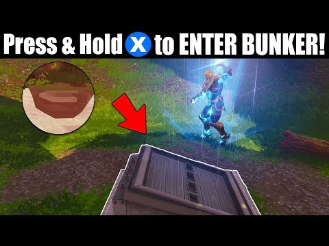 CAN THANOS get into SECRET BUNKER at 'WAILING WOODS?' (Fortnite Bunker Revealed!)