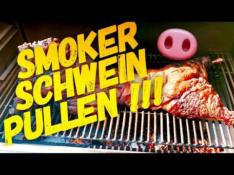 WHOLE HOG Ein Ganzes Schwein 🐽 Zu Pulled Pork Grillen --- Klaus Grillt