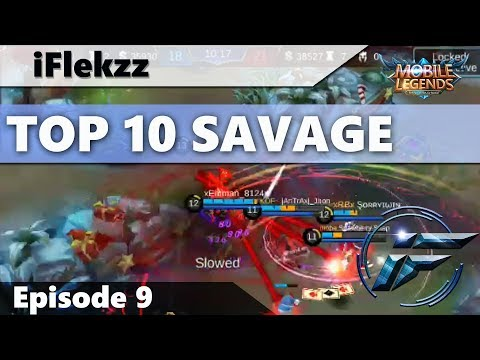 THE BEST SAVAGES! TOP 10 SAVAGES #9 - MOBILE LEGENDS