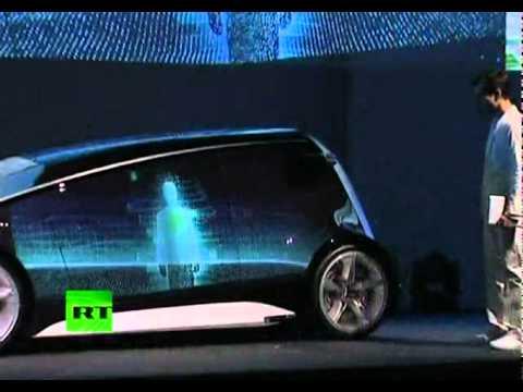 Viaje Al Futuro En Fun Vii Toyota Presento Un Auto Parecido A Un