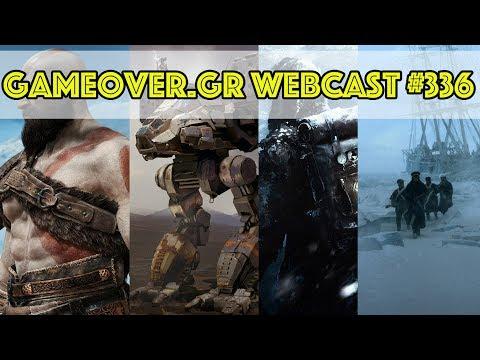 Webcast #336 | God of War, Battletech, Frostpunk, The Terror
