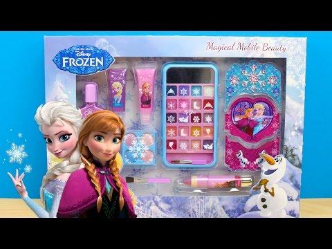 Maquillaje de FROZEN para niña en español | Como maquillar a la muñeca Elsa de Frozen