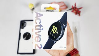 Samsung Galaxy Watch Active 2 Unboxing Indonesia