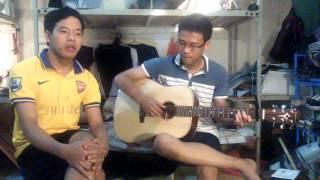 [Guitar Cover] Qua Cầu Gió Bay - Ngô Nam