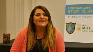 Melissa Mugno, OMT, Interviewed at the ALSC Symposium
