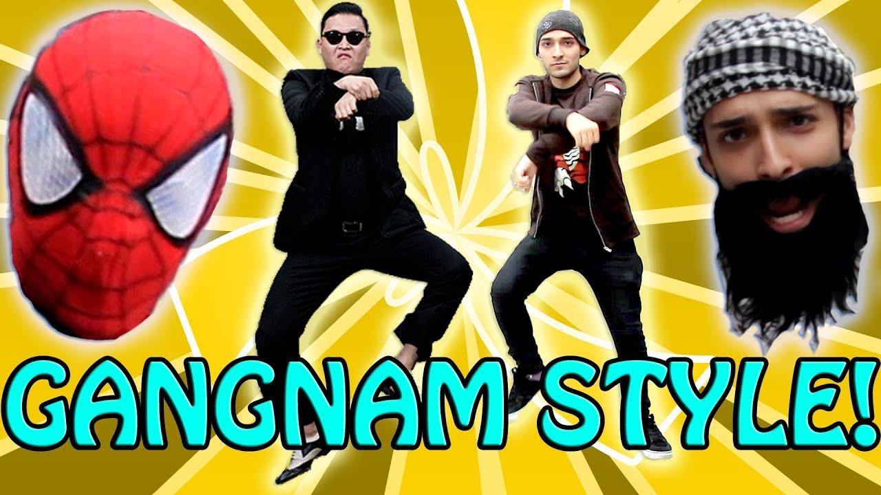 PSY - Gangnam Style - New York City (Arabic Parody Ganin Style) (강남스타일) M/V