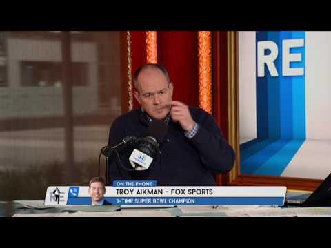 Hall of Famer Troy Aikman talks about Tony Romo