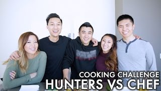Cooking Challenge: Hunters v. Chefs | WahlieTV