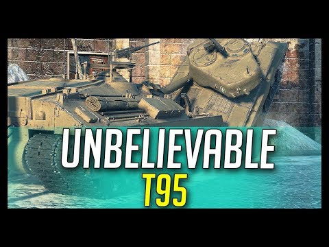 ► Unbelievable T95 is Flipping Stuff - World of Tanks T95 Gameplay thumbnail