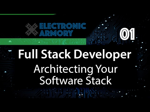 Full Stack App From Scratch - Architecting Your Software Stack - 01