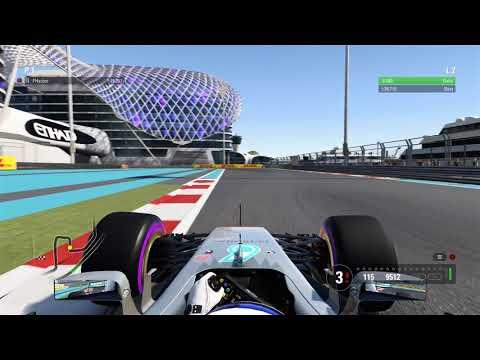 F1 2017 - Abu Dhabi Time Trial
