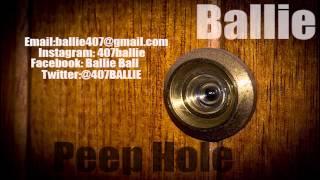 BALLIE PEEP HOLE
