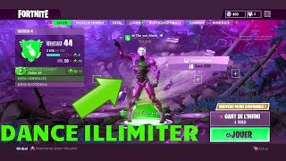 FORTNITE * (GLITCH/FUN) UTILISER CES EMOTES EN ILLIMITER DANS LE SALON !