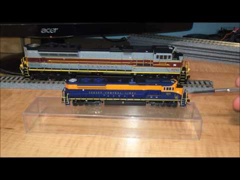 Comparison: HO vs N Scale