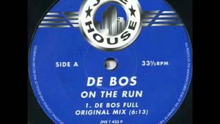De Bos  - On The Run Pulp - (Victim Rmx)