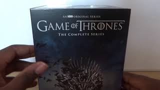 Game Of Thrones The Complete Series Box Set (UK) DVD Unboxing