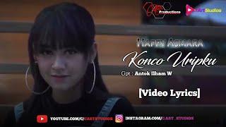 Happy Asmara - Konco Uripku [Video Lyrics]