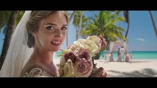 Wedding on Saona island. Свадьба на острове Саона
