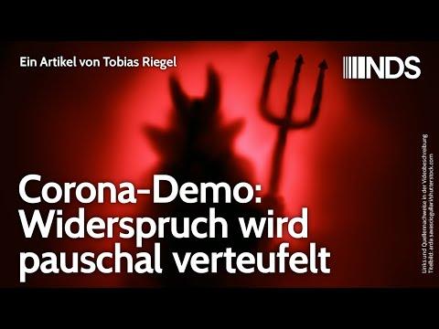 Corona-Demo: Widerspruch wird pauschal verteufelt | Tobias Riegel | NachDenkSeiten-Podcast