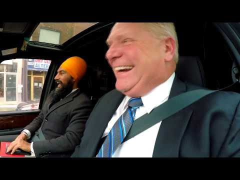 Jagmeet Singh and Doug Ford go on a Political Blind Date