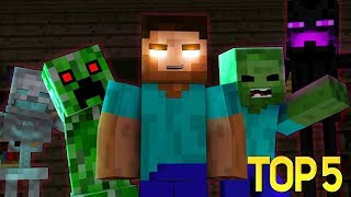 СБОРНИК МАЙНКРАФТ ПЕСЕН НА РУССКОМ Minecraft Animation Song Compilation
