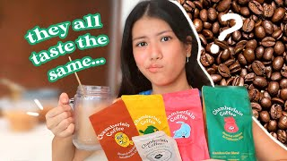 trying *NEW* Emma Chamberlain coffee so you don&#39t have to