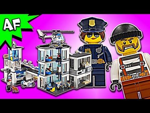 Lego City POLICE STATION 60141 Speed Build