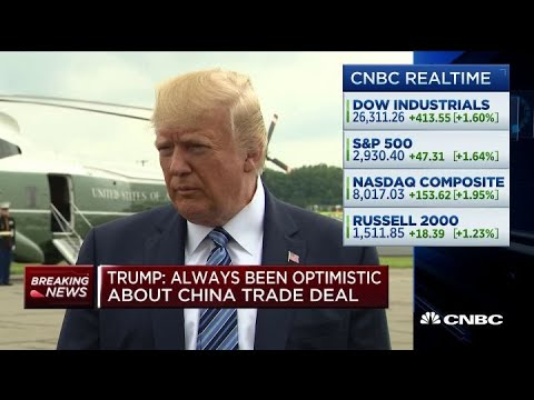 Trump: We're delaying tariffs to benefit Christmas shopping season